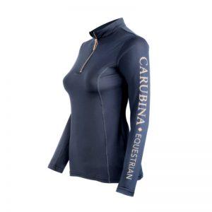 Longsleeve Trainingsshirt Caporto Limited Edition Navy rose Carubina